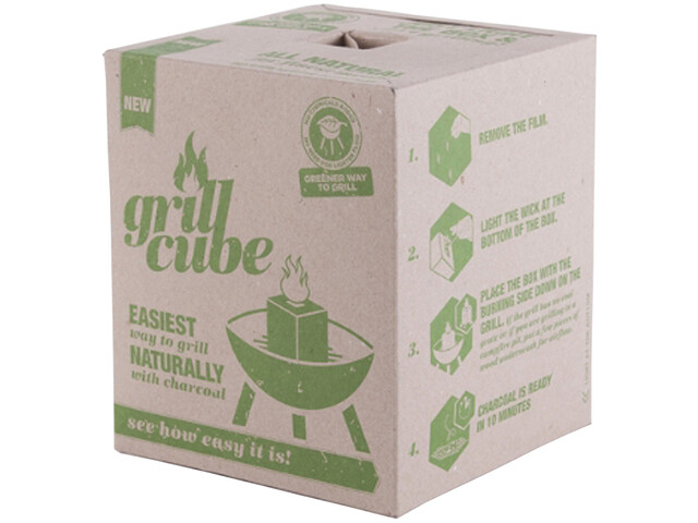 Carbón vegetal Grillcube